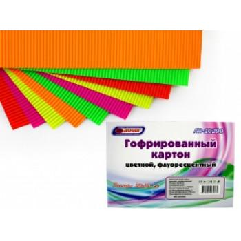 Гофрированный картон цветной, флуоресцен..