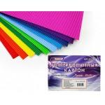 Гофрированный картон цветной А4, 250 гр/..