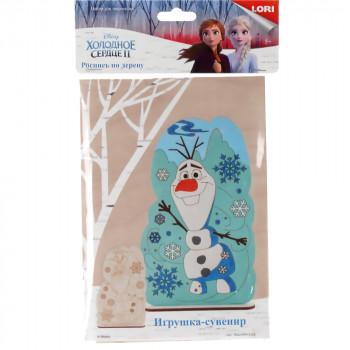 Роспись по дереву.Игрушка-сувенир Disney. Холодное..