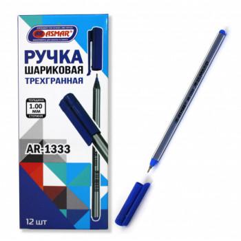 Ручка синяя шариковая на масл. основе тр..