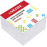 """Куб бумажный для записей """"deVENTE"""" 90x90x50 мм белый, проклеенный, офсет 100 г/м², белизна 92%"""