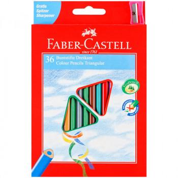 Карандаши цветные Faber-Castell 36цв., трехгран., ..