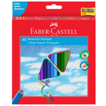 Карандаши цветные Faber-Castell 48цв., трехгран., ..