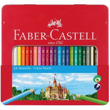 Карандаши цветные Faber-Castell, 24цв., заточен., ..