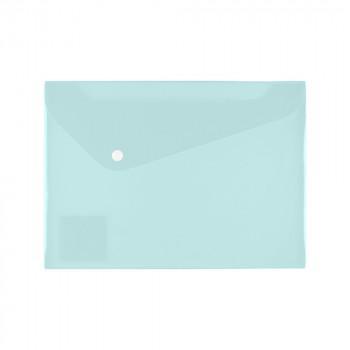Папка-конверт А4 с кнопкой 180 мкр. диаг..