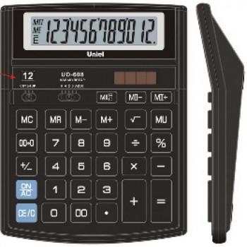 КАЛЬКУЛЯТОР UD-608, 12 разрядный , 204х1..