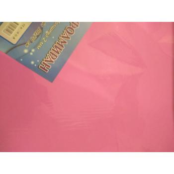 Фоамиран 2 мм 50см*70см розовый (10)..