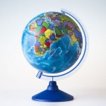 Глобус Земли Политический ( 210 мм.Класс..