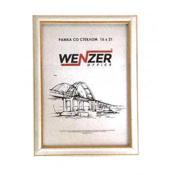 281 Фоторамка пластик 15х21 (белый) WENZ..