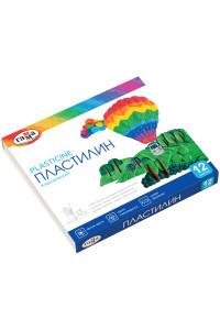 "Пластилин Гамма ""Классический"", 12 цветов, 240г, со стеком, картон (16)"