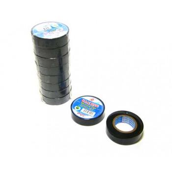 Изолента 17мм*10м. черная (BS-378) (10/1..