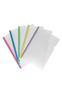 Скоросшиватель с планкой А4, 8мм до 60 листов AXENT (5/300)