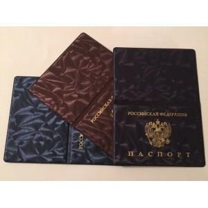 Обложка для паспорта ШЕЛК (WL-PGL001) (50)