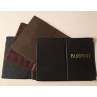 Обложка для паспорта ПВХ кож.зам (Рептилия) (50)