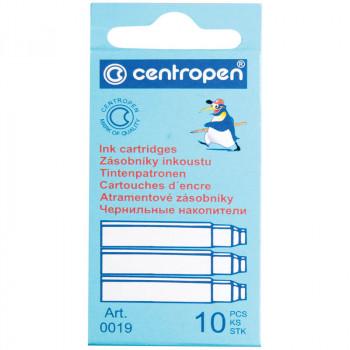 Картриджи чернильные Centropen синие, 10шт., карто..