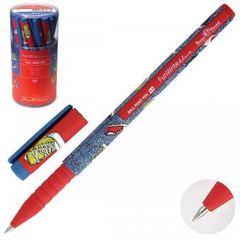 Ручка шар дет 0,5 FunWrite Кеды разноцве..