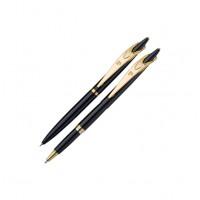 Набор Pierre Cardin PEN&PEN:: ручка шариковая + роллер. Корпус - латунь с лакированным покрытием, де