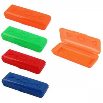 Пенал-футляр пластик 20*7,5*3 1 отделени..