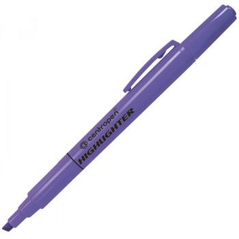 Текстмаркер флюоресцентный, фиолетовый, ..