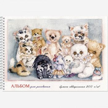 Альбом А3 для рисования акварелью