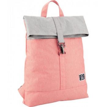 Рюкзак GoPack Сity серо-розовый Kite GO2..