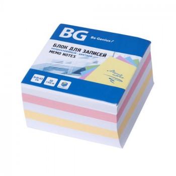 Блок для записей 9х9х4,5 см, непроклеенн..