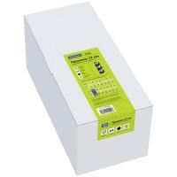 Пружины пластик D=22 мм OfficeSpace чёрный 50шт. (Спейс) (Китай)