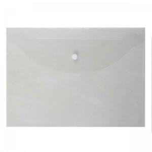 Папка-конверт на кноп А4 (240*330мм) 0,12мм Attomex 3071820 прозр