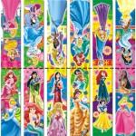 Магнит -закладка Принцессы 374..