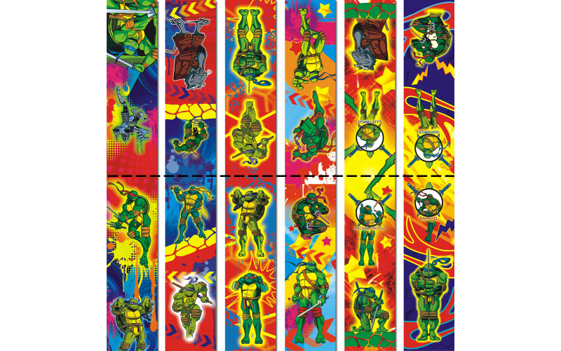 Магнит -закладка Черепашки-ниндзя 332