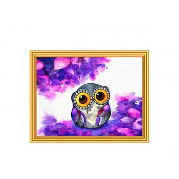 Картина 2 в 1: алмазная мозаика и раскрашивание по..