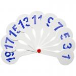 Веер-касса цифр от 1 до 20 (Спейс) (Росс..