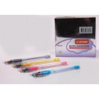 Ручка шариковая на масляной основе. цветной корпус ( аналог РВ-121) (50)