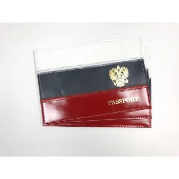 Обложка на паспорт из нат. кожи спилок ф..