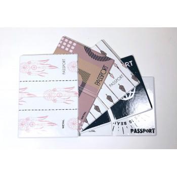 Обложка на паспорт из ПВХ с принтом..