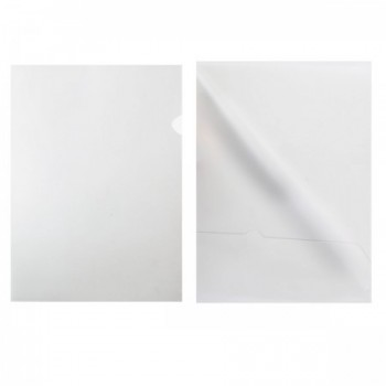 Папка-уголок 0,15мм плотн ЕЕ-310 прозр 8..
