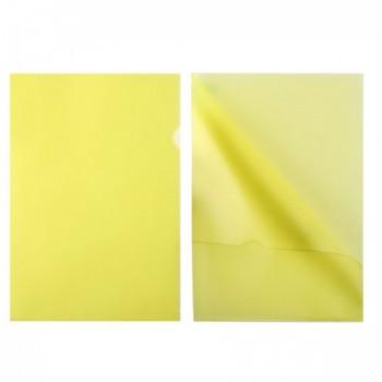 Папка-уголок 0,15мм плотн ЕЕ-310 желт п/..