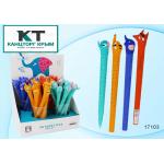 Гелевая ручка детская синяя