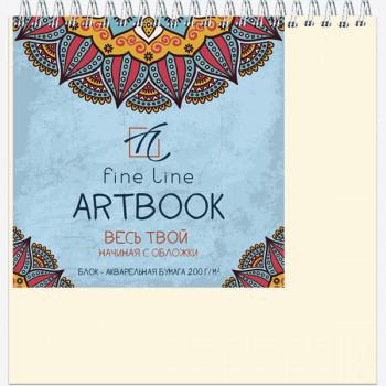 Блокнот-скетчбук ARTBOOK QUADRO BIG AQUA..