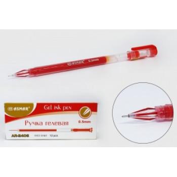 Ручка гелевая красная с кристаллическим ..