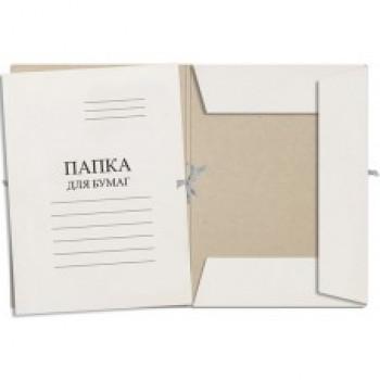 Папка для бумаг с завязками картонная ЭВ..