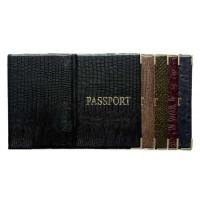 """Обложка на паспорт пвх """"Змея"""" (50)"""