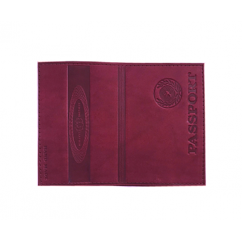 Обложка на паспорт WENZER OFFiCE из нату..