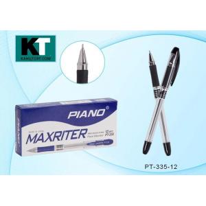 """Ручка шариковая """"PIANO MAXRITER"""", черная, 0,5 мм прозрачный корпус (PIANO) (12/144)"""