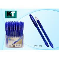 "Ручка шариковая ""BASIR MC 3498"" cиняя, 0,7 мм, грип (BASIR) (50/1200)"