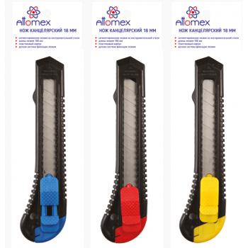 Нож канц 18мм Attomex 4090301 (130)..