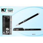 Ручка пиши-стирай гелевая черная