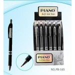 Ручка шар авт Piano син 0.7мм PB-165/24/1152 Китай..