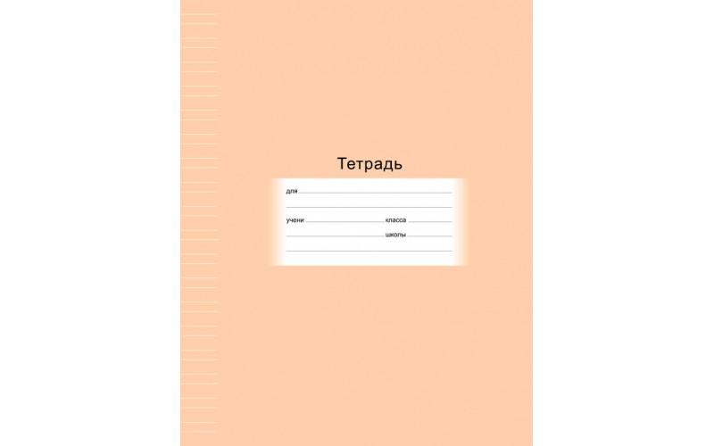 Тетрадь 12л. линия узкая Школьная (БиДжи) (20/240)