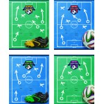 Тетрадь 18л. клетка Footbal World (БиДжи..